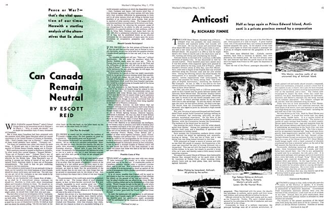Article Preview: Anticosti, May 1st, 1936 1936 | Maclean's