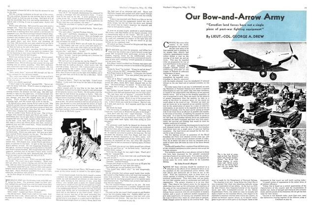 Article Preview: Our Bow-and-Arrow Army, May 1936 | Maclean's