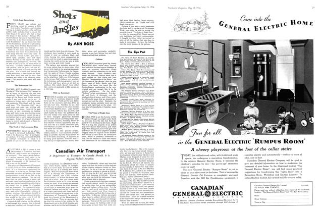 Article Preview: Shots and Angles, May 1936 | Maclean's
