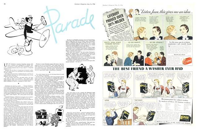 Article Preview: Parade, May 1936 | Maclean's