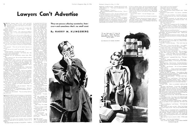 Article Preview: Lawyers Can't Advertise, May 1936 | Maclean's