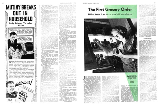 Article Preview: The First Grocery Order, June 1st, 1936 1936 | Maclean's