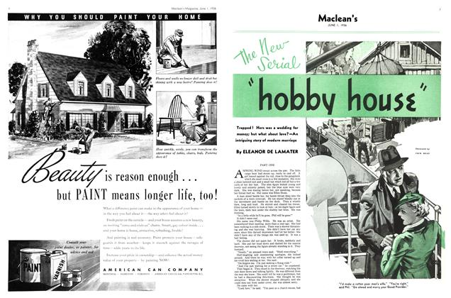 """Article Preview: The New Serial """"hobby house"""", June 1st, 1936 1936 
