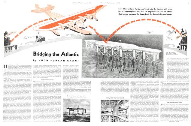 Article Preview: Bridging the Atlantic, June 1st, 1936 1936 | Maclean's