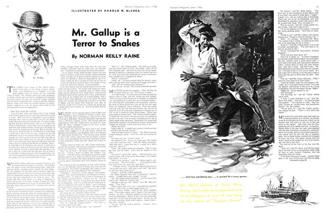 Article Preview: Mr. Gallup is a Terror to Snakes, June 1st, 1936 1936 | Maclean's