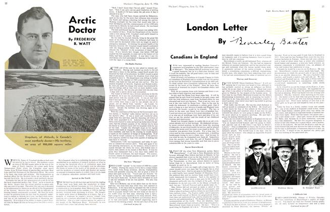 Article Preview: London Letter, June 1936 | Maclean's