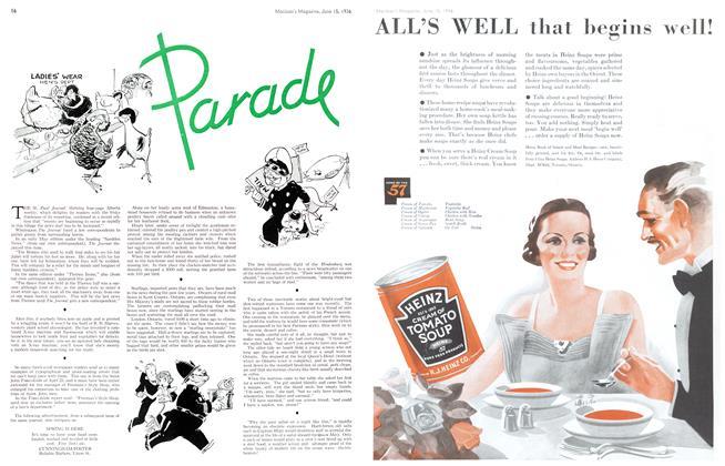 Article Preview: Parade, June 1936 | Maclean's