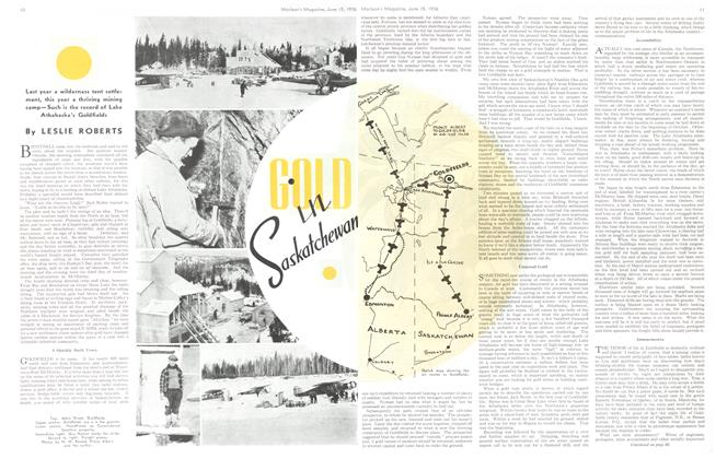 Article Preview: GOLD in Saskatchewan, June 1936 | Maclean's