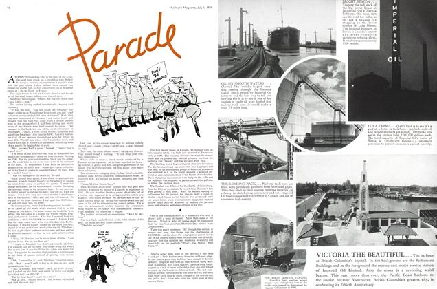 Article Preview: Parade, July 1st, 1936 1936 | Maclean's