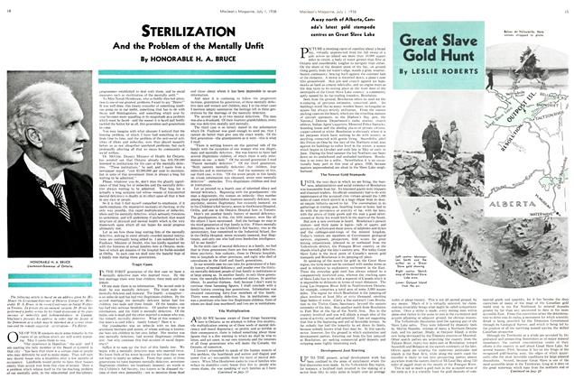 Article Preview: Great Slave Gold Hunt, July 1st, 1936 1936 | Maclean's