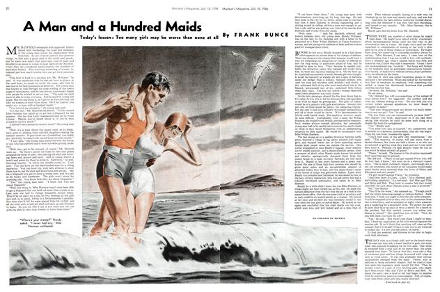 Article Preview: A Man and a Hundred Maids, July 1936 | Maclean's