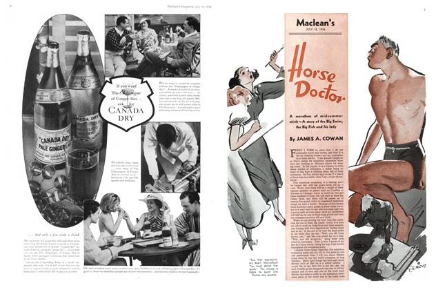 Article Preview: Horse Doctor, July 1936 | Maclean's