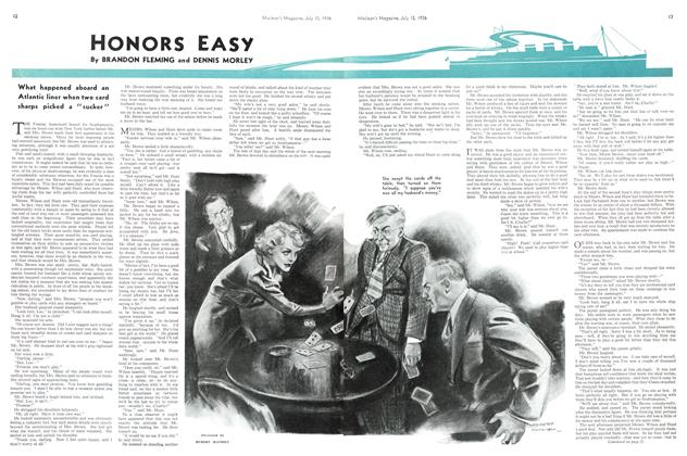 Article Preview: HONORS EASY, July 1936 | Maclean's