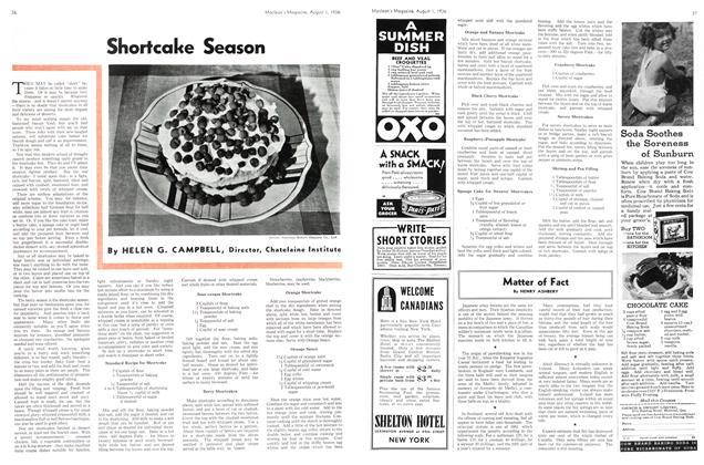 Article Preview: Shortcake Season, August 1st, 1936 1936   Maclean's