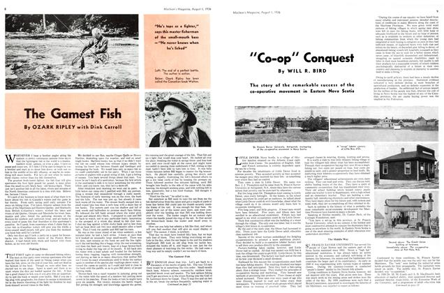 "Article Preview: ""Co-op"" Conquest, August 1st, 1936 1936 