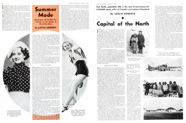 Article Preview: Capital of the North, August 1st, 1936 1936 | Maclean's