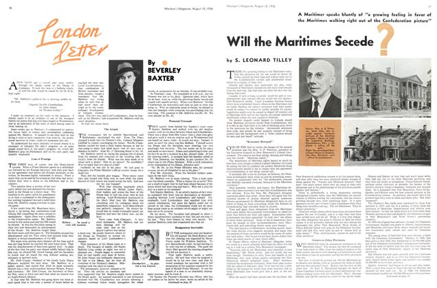 Article Preview: Will the Maritimes Secede?, August 1936 | Maclean's