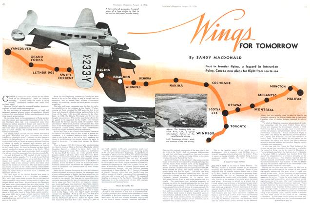 Article Preview: Wings FOR TOMORROW, August 1936 | Maclean's