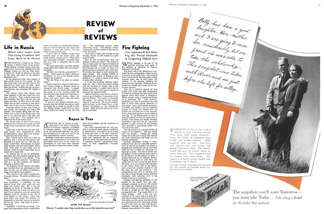 Article Preview: Rayon in Tires, September 1st, 1936 1936 | Maclean's