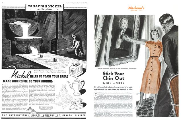 Article Preview: Stick Your Chin Out, September 1st, 1936 1936 | Maclean's