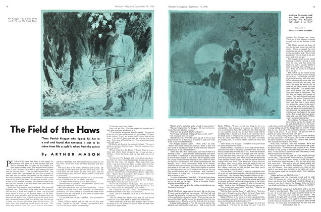 Article Preview: The Field of the Haws, September 1936 | Maclean's
