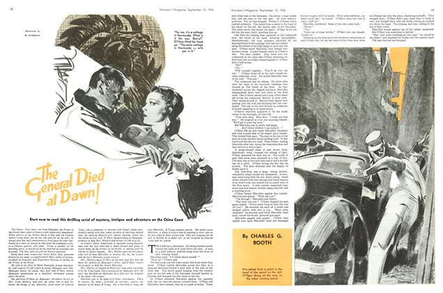 Article Preview: The General Died at Dawn!, September 1936 | Maclean's