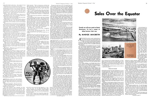 Article Preview: Sales Over the Equator, October 1936 | Maclean's