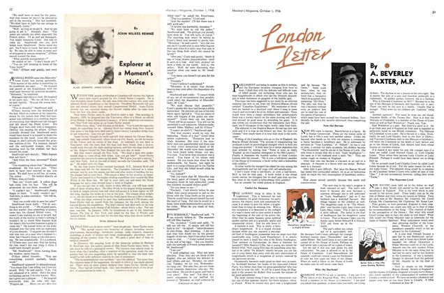 Article Preview: London Lettter, October 1936 | Maclean's
