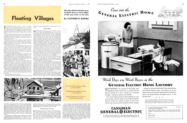 Article Preview: Floating Villages, October 1936 | Maclean's