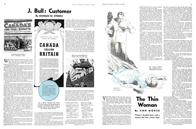 Article Preview: J. Bull: Customer, October 1936 | Maclean's