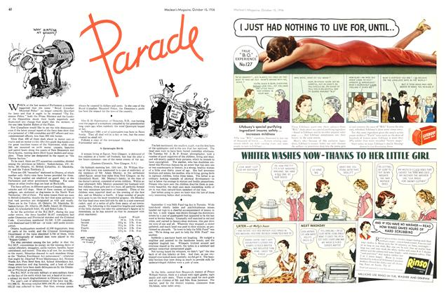 Article Preview: Parade, October 1936 | Maclean's