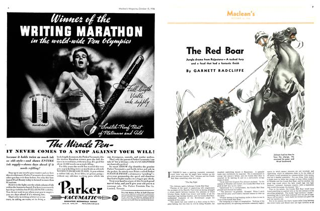 Article Preview: The Red Boar, October 1936 | Maclean's