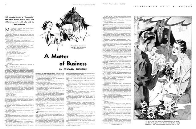 Article Preview: A Matter of Business, October 1936 | Maclean's