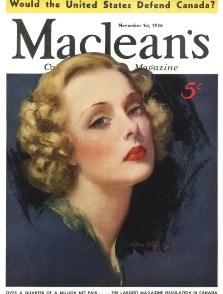 Issue: - November 1st, 1936 | Maclean's