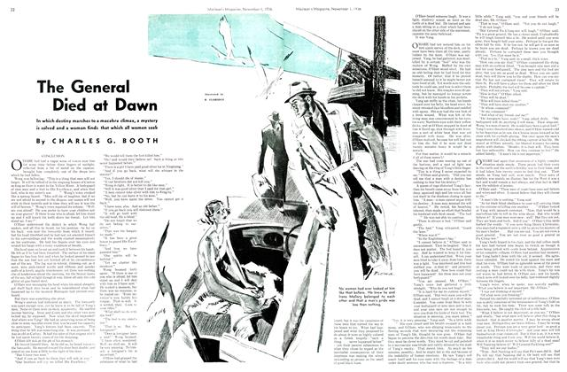 Article Preview: The General Died at Dawn, November 1st, 1936 1936 | Maclean's