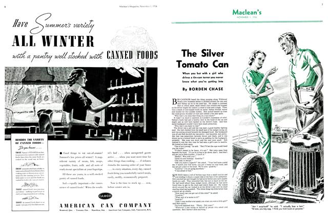 Article Preview: The Silver Tomato Can, November 1st, 1936 1936 | Maclean's
