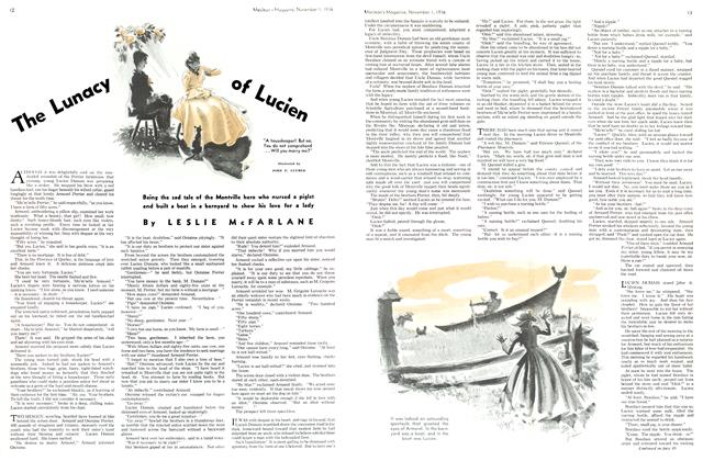 Article Preview: The Lunacy of Lucien, November 1st, 1936 1936 | Maclean's
