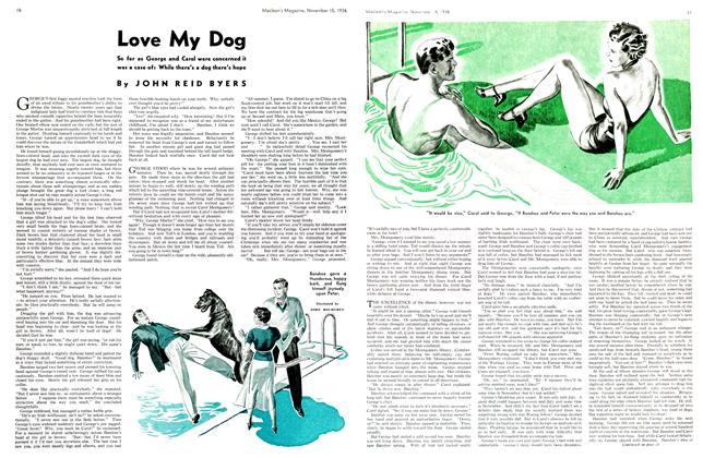 Article Preview: Love My Dog, November 1936 | Maclean's