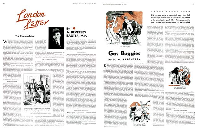 Article Preview: London Letter, November 1936 | Maclean's