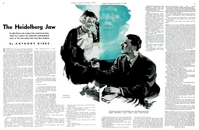 Article Preview: The Heidelberg Jaw, November 1936 | Maclean's