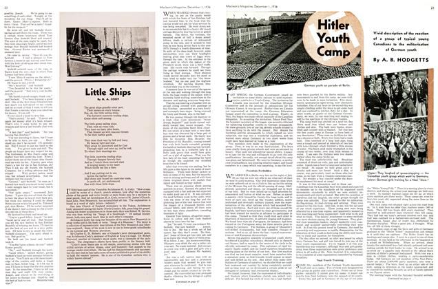 Article Preview: Hitler Youth Camp, December 1936 | Maclean's