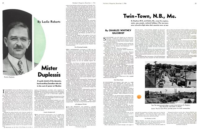 Article Preview: Twin-Town, N.B., Me., December 1936 | Maclean's