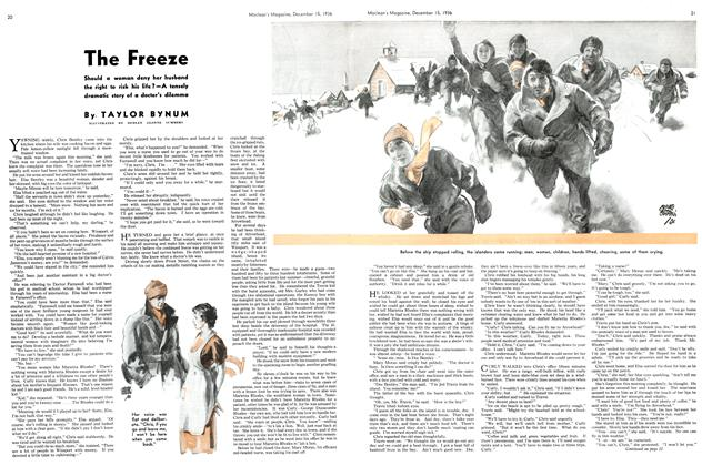 Article Preview: The Freeze, December 1936 | Maclean's