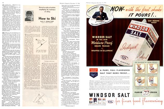 Article Preview: How to Ski, December 1936 | Maclean's