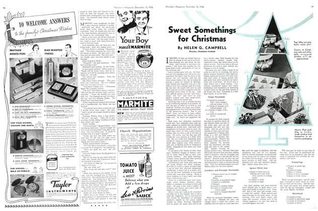 Article Preview: Sweet Somethings for Christmas, December 1936 | Maclean's
