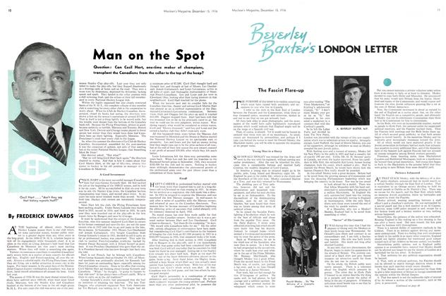 Article Preview: Man on the Spot, December 1936 | Maclean's