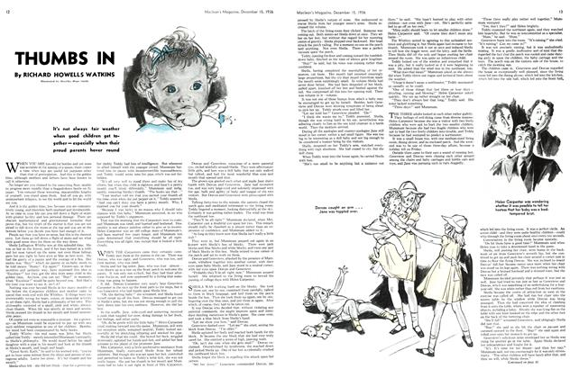 Article Preview: THUMBS IN, December 1936 | Maclean's