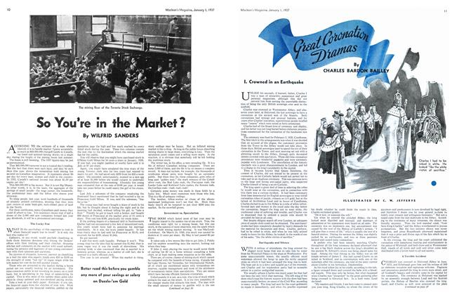 Article Preview: So You're in the Market?, January 1937 | Maclean's