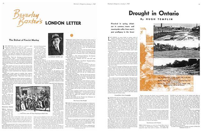 Article Preview: Drought in Ontario, January 1937 | Maclean's