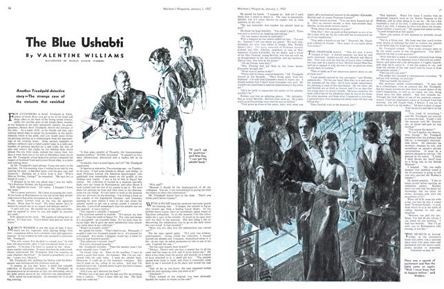 Article Preview: The Blue Ushabti, January 1937 | Maclean's